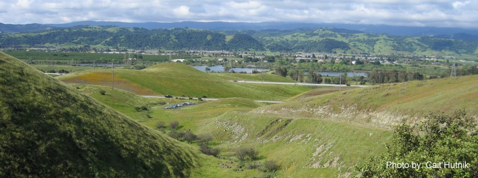 Coyote Valley from Coyote Ridge 2 - Cait Hutnik -withCredit2