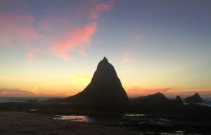 Martin's Beach-sunset