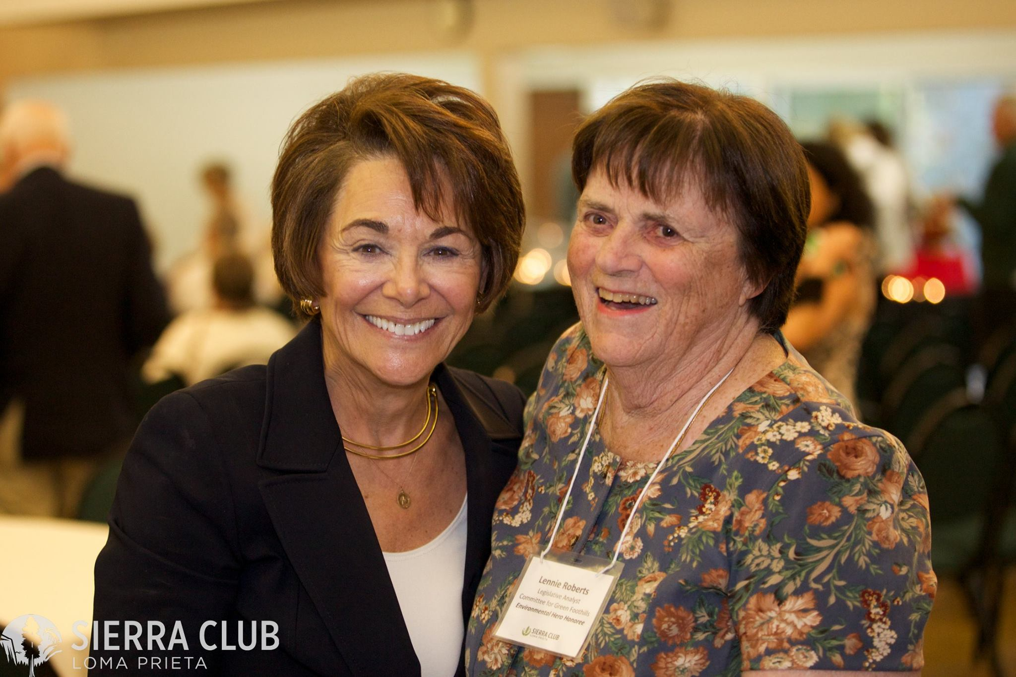 Local Sierra Club Chapter Honors our own Lennie Roberts
