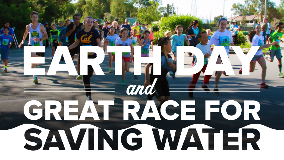 Join us at the Earth Day Festival and Great Race for Saving Water