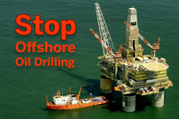 Speak up for our oceans: stop offshore oil drilling