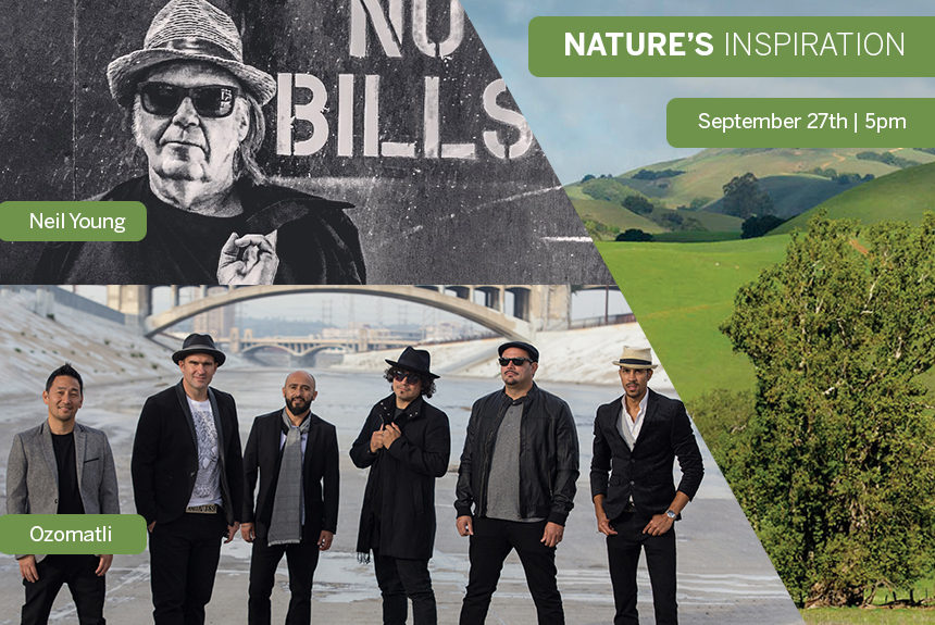 Our 17th annual Nature's Inspiration on September 27th promises to be a rockin' success!