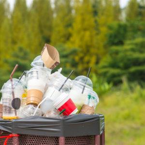 Electronic Billboards, Urban Greening and Single-Use Plastics