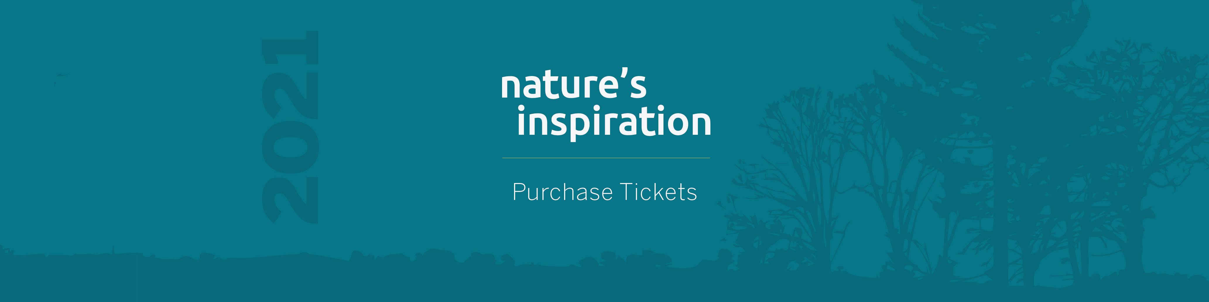 2021 Natures Inspiration - Tickets Banner